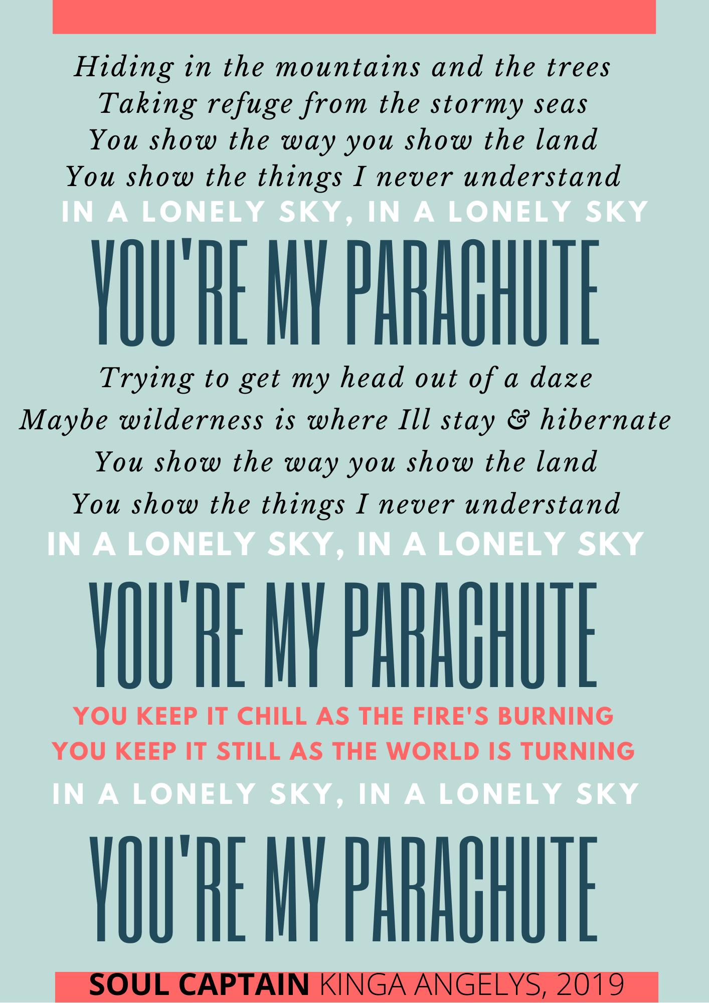 PARACHUTE Lyrics