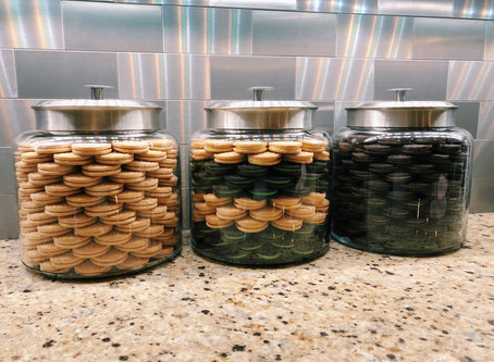 Three Steps To Organize Your Cookie Jar And Making It An Accent Piece In The Kitchen