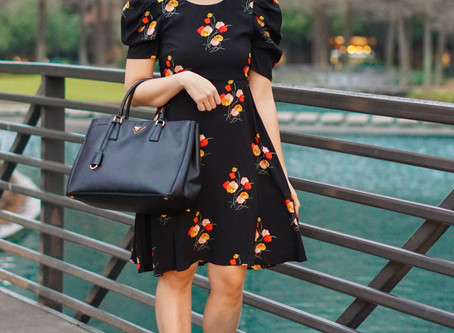 Floral Dress in January?!