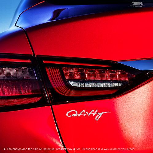 Griben Car Lettering Slogan Decal Sticker 10394