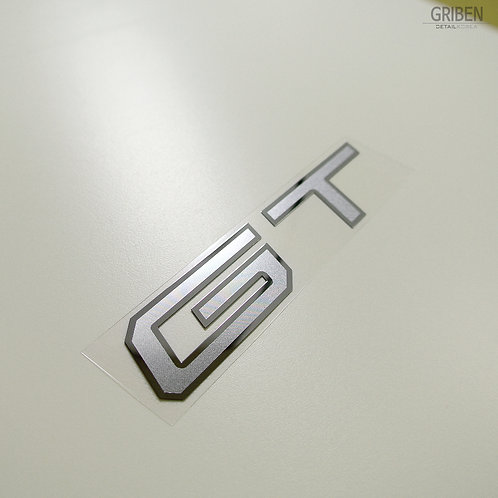Griben GT Car Metal Sticker Pair Decal 60193M for All Cars