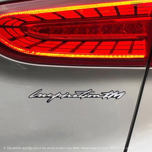 Griben Car Emblem Metal Matte Badge 70278 for Hyundai Santafe TM Inspiration