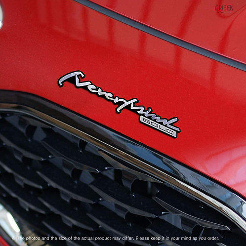 Griben Car Emblem Handwriting Metal Chrome Badge 70316 for Kia Sportage