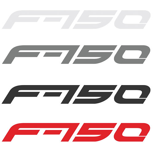 Car Decal Sticker x2 Pair for Ford F150 or Raptor