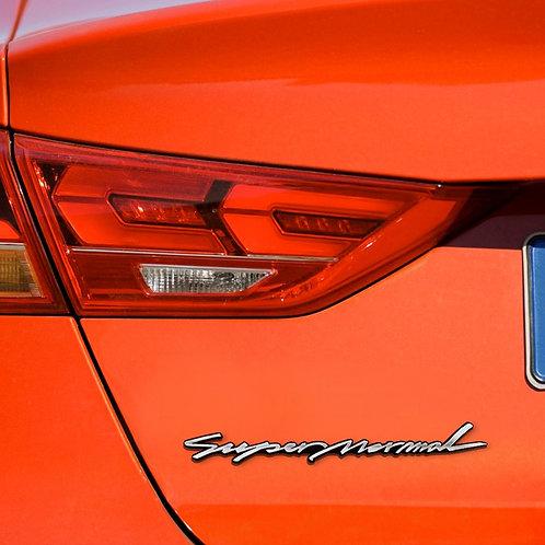 Griben Car Emblem Metal Chrome Badge 70211 for Hyundai Elantra AD