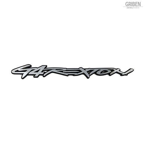 Griben Car Emblem Metal Chrome Badge 70250 for Ssangyong G4 Rexton
