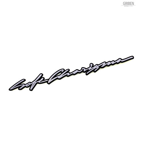 Griben Car Slogans Emblem Sliver Badge 30334 for Kia Cadenza, K7