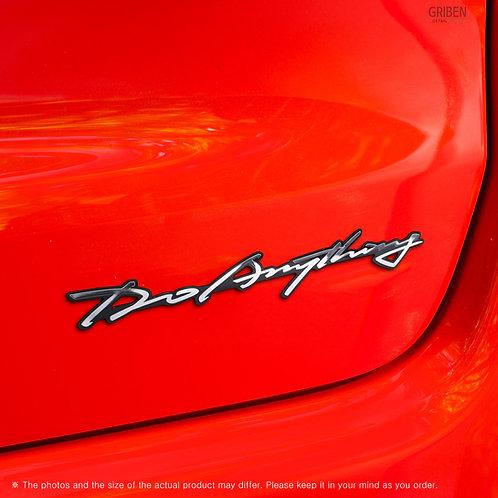 Griben Car Emblem Handwriting Metal Chrome Badge 70308 for Jeep All Cars