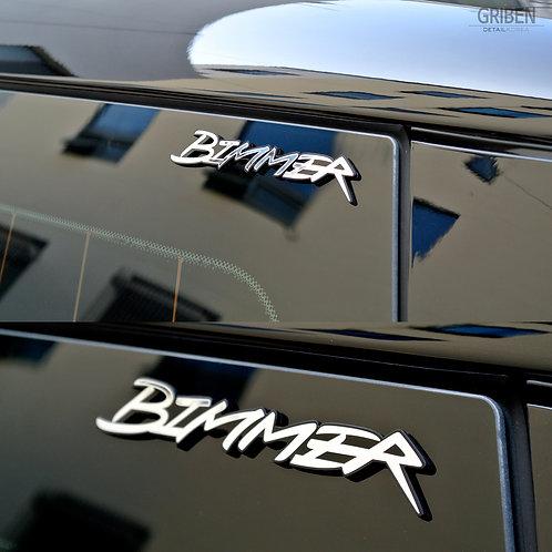 Griben Car Emblem Chrome Badge Nickname Bimmer Metal 70203 for BMW