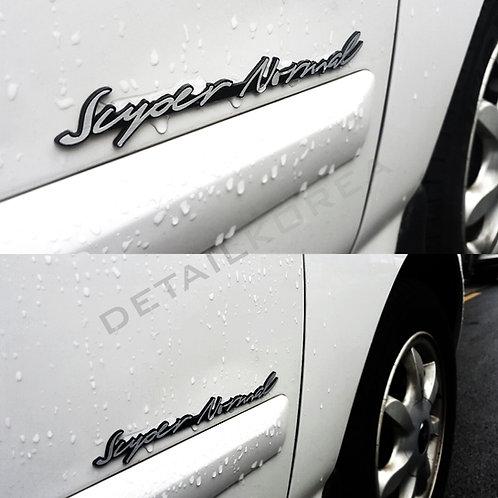 Car Cursive Lettering Slogans Emblem 30044 for Hyundai Avante
