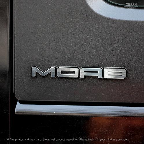 Griben Car Emblem Metal Chrome Badge 70347 for Jeep WRANGLER