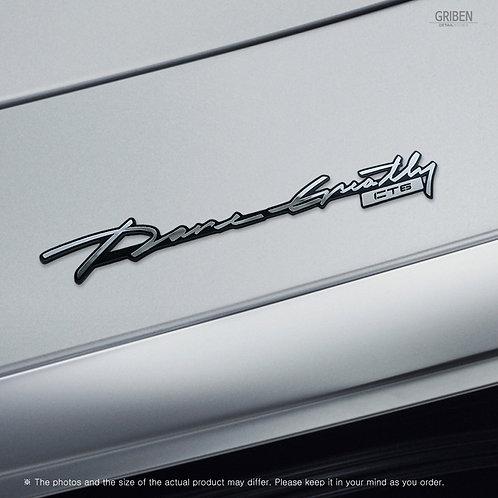 Griben 70359 Car Slogan Handwriting Emblem Metal Chrome Badge for CT6