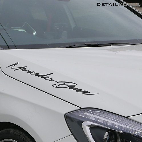 Car Full Name Decal Sticker (3 Size) for Mercedes-Benz