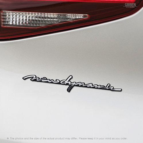 Griben Car Emblem Handwriting Metal Chrome Badge 70314 for Hyundai Tucson