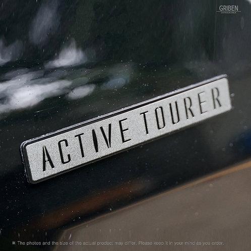Griben Car Emblem Metal Matte Chrome Badge 70352 for BMW 2 Series Active Tourer
