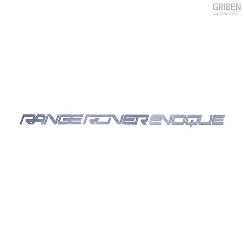 Griben Car Metal 60190 Chrome Sticker for Evoque
