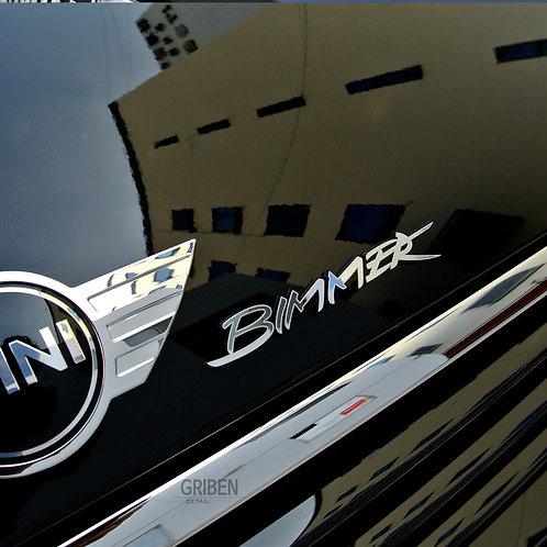 Griben Car Nickname Bimmer Metal Emblem Chrome Badge 70201 for BMW