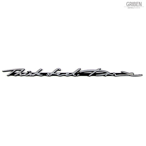 Griben Car Emblem 70163 Metal Chrome Badge