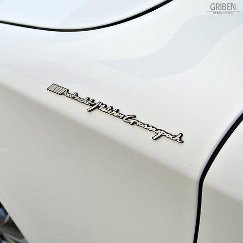 Griben Car Emblem Metal Sticker Chrome Badge 70116 for AMG & Mercedes-BenzListed