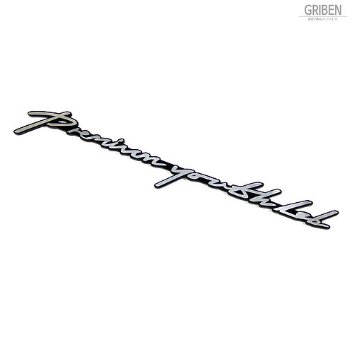 Griben Car Slogan Emblem Metal Chrome Badge 70165 for Hyundai Veloster
