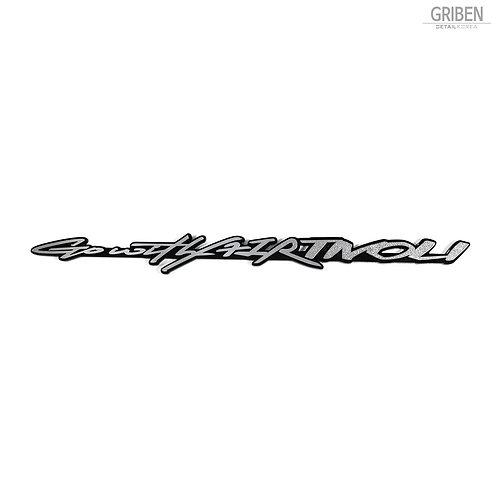Griben Car Emblem Metal Chrome Badge 70252 for Ssangyong XLV, Tivoli
