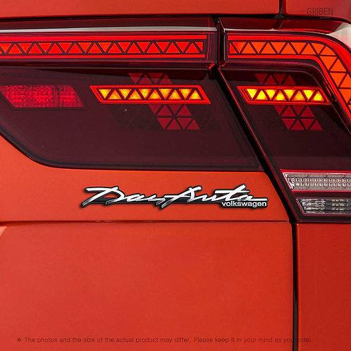 Griben Car Emblem Handwriting Metal Chrome Badge 70320 for Volkswagen