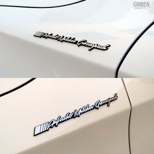 Griben Car Metal Chrome Acryl Emblem 70057 for AMG & Mercedes-Benz