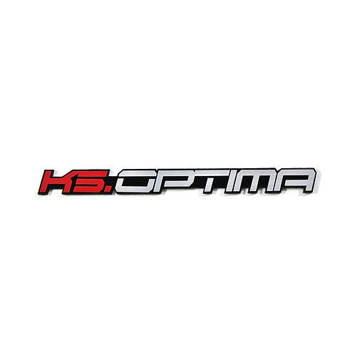 Griben Car Name Emblem Badge Pair 30148A for Optima