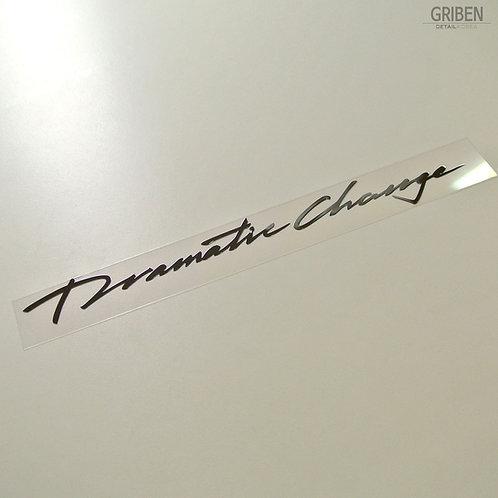 Griben Car Slogan Chrome Metal Sticker Pair 60247 for Hyundai Sonata New Rise