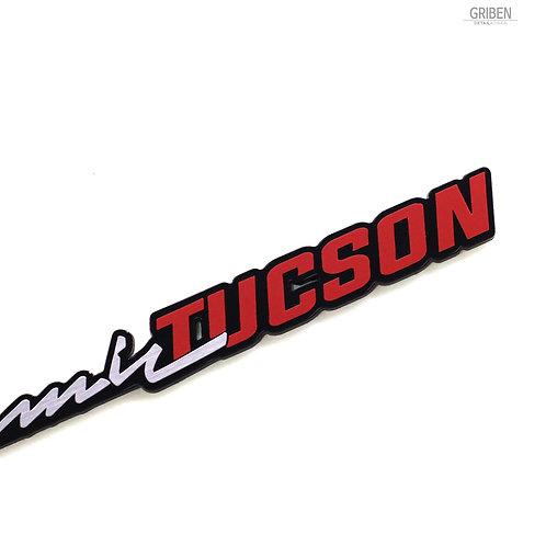 Griben Car Emblem Handwriting Badge 30314 for Hyundai Tucson