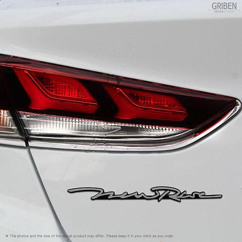 Griben Car Emblem Sliver Badge 30254 for Hyundai Sonata New Rise (2017~)