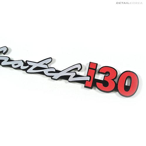 GRIBEN Car Lettering Slogans Emblem Badge for Elantra GT or i30