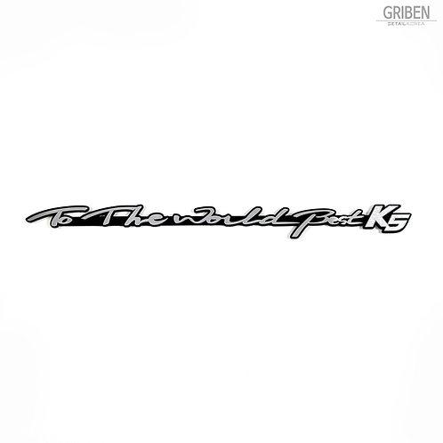 Griben Car Emblem Metal Chrome Badge 70115 for Kia Optima, K5