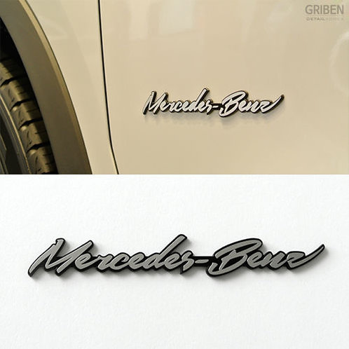 Griben Car Metal Sticker Chrome Emblem 70059 Merc
