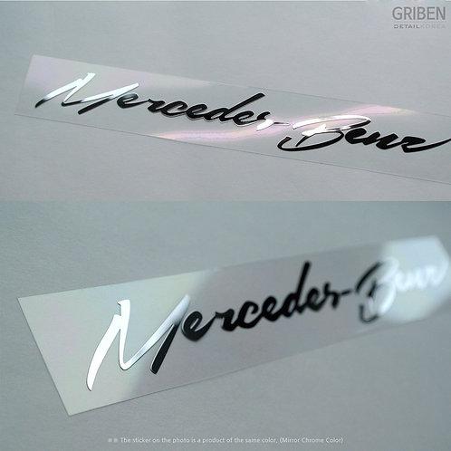 Griben Car Metal Sticker 60059 Pair Decal 60059 Merc