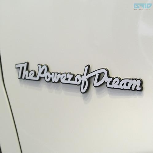 Detailkorea Grid Car Lettering Slogan Emblem B For Honda