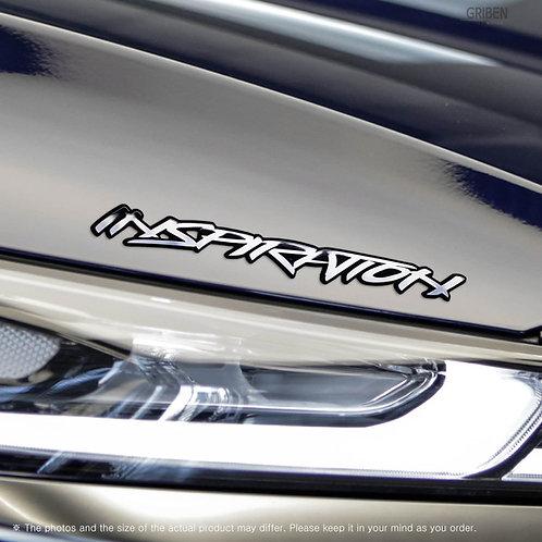 Griben Car Emblem Metal Chrome Badge 70306 for Hyundai Santafe TM Inspiration