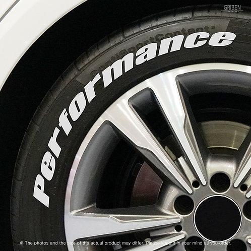 GRIBEN Tire Lettering Sticker Performance TR019