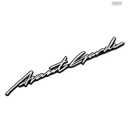 Griben Car Lettering Emblem Slim Badge 30335 Fits : Mercedes-Benz, A