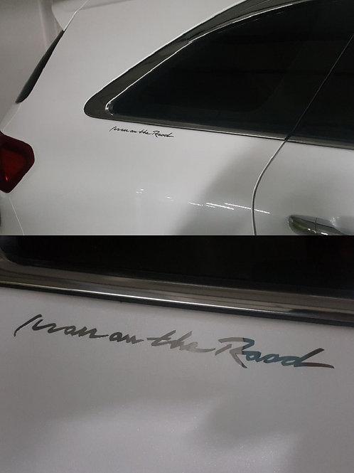 Griben Car Metal Sticker Chrome Pair Decal 60077 for Kia Sorento