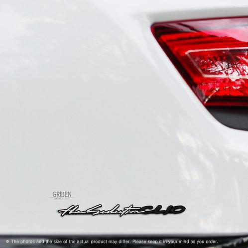 Griben Car Emblem 30280 Badge for CLIO