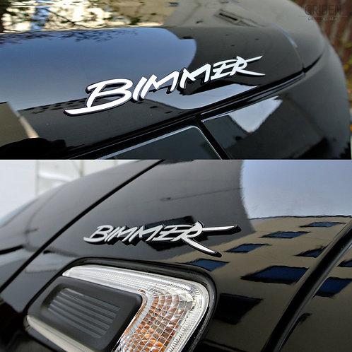 Griben Car Nickname Bimmer Metal Sticker Emblem Badge 70201-15 for BMW All