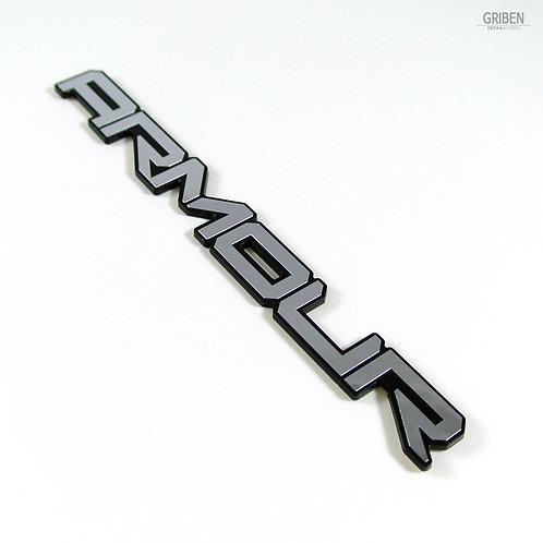 Griben Car Emblem Metal Chrome Badge 70270 for Ssangyong Tivoli, XLV