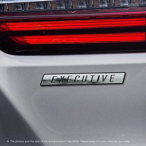 Griben Car Lettering Emblem Metal Chrome Badge 70367 EXECUTIVE