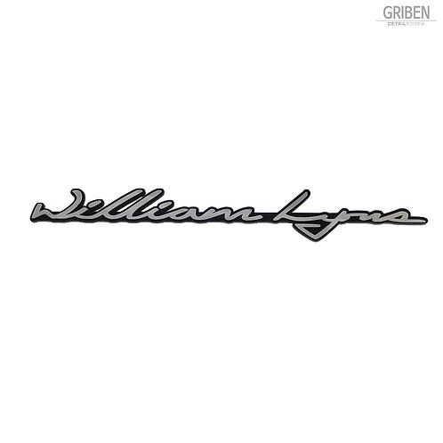 Griben Car Emblem Metal Chrome Badge 70178B Founder Name for Jaguar