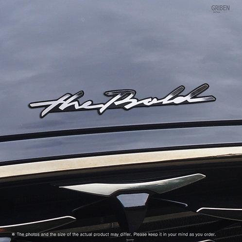 Griben Car Emblem Handwriting Metal Chrome Badge 70318 for Kia Sportage
