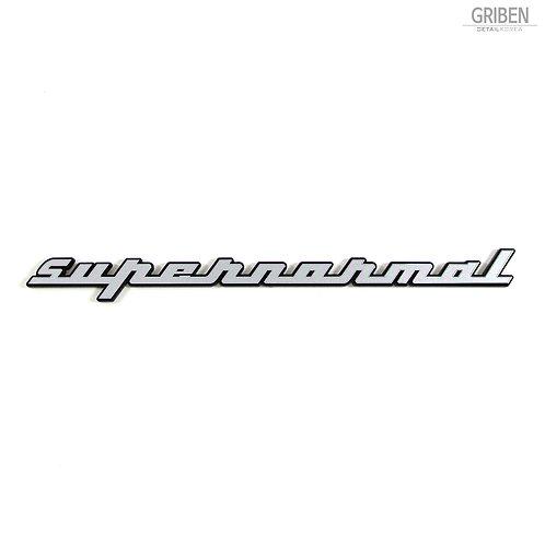 Griben Car Emblem Metal Matte Chrome Badge 70214 for Hyundai Elantra AD