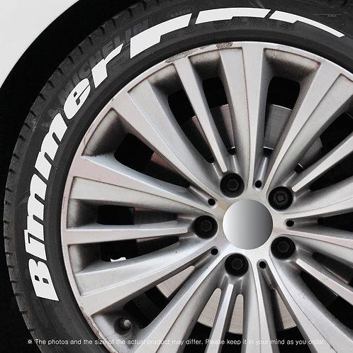 GRIBEN Tire Lettering Sticker Bimmer TR012