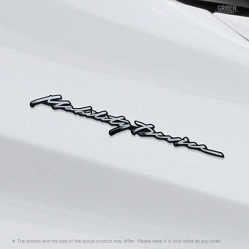 Griben Car Slogan Emblem Metal Badge Chrome 70353 for Hyundai Sonata DN8