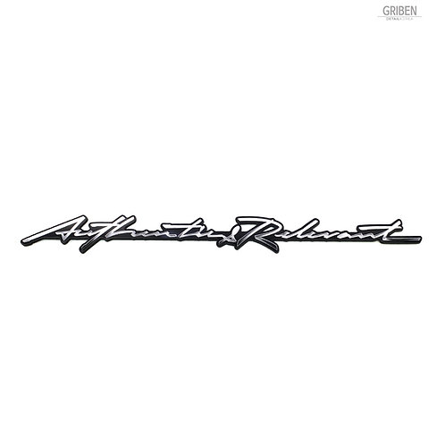 Griben Car Emblem Handwriting Metal Chrome Badge 70332 for Genesis G70